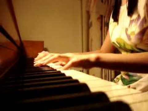 Kiss - Because I'm A Girl Piano video