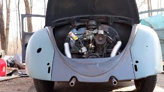 Will it Run ? 1963 Vw Bug Raptop project : Volkswagen Beetle will it start ?