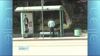 Ellen Hides Tickets At A Bus Stop For Her Twitter Followers! On The Ellen DeGeneres Show