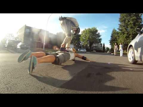 HUMAN BOARD - Concours best trick FFA Francis Tremblay et Antoine Tremblay