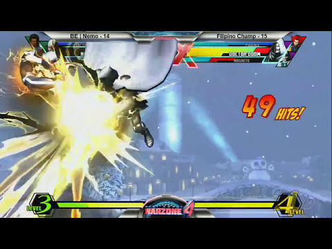 Filipino Champ vs. Nemo - FT20 Money Match - West Coast Warzone 4 - Ultimate Marvel vs. Capcom 3