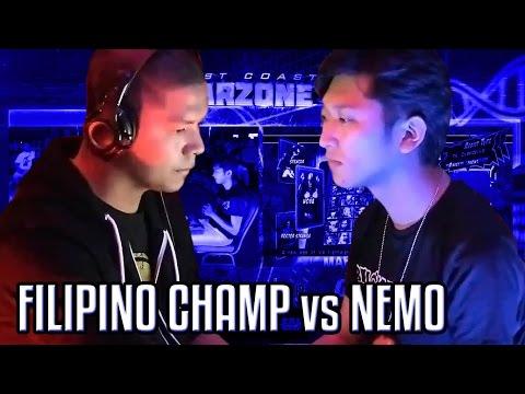 Filipino Champ vs. Nemo - FT20 Money Match - West Coast Warzone 4 - Ultimate Marvel vs. Capcom 3