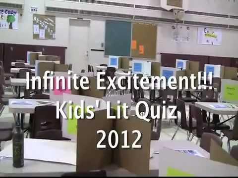 Kids' Lit Quiz Canada, 2012