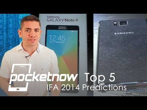 Top 5 predictions for IFA 2014