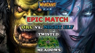 Grubby | Warcraft 3 The Frozen Throne | Orc vs. NE - Epic Match - Twisted Meadows