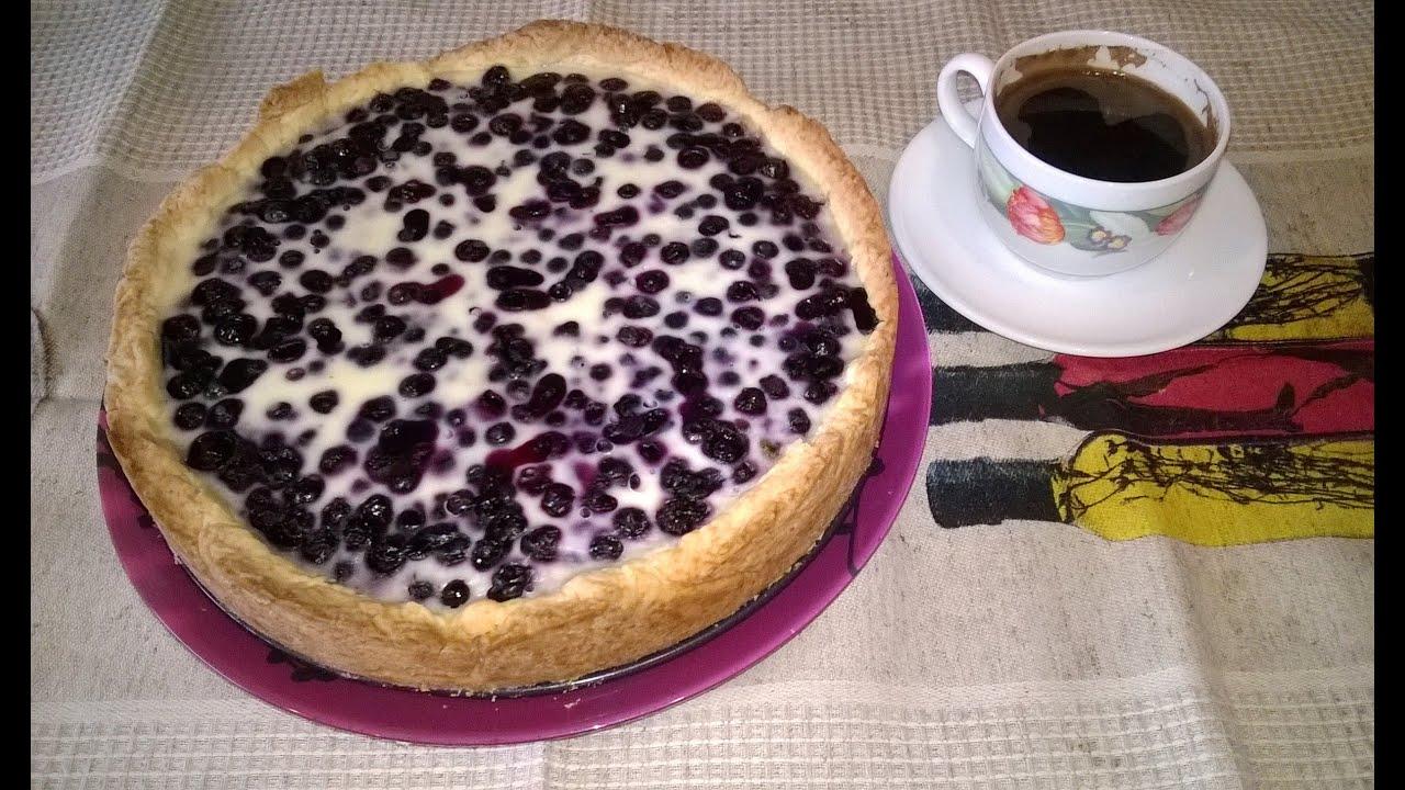Заливной пирог с малиной. рецепт с фотографиями 86