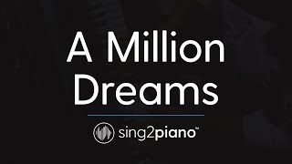 A Million Dreams Piano Instrumental Originally By The Greatest Showman