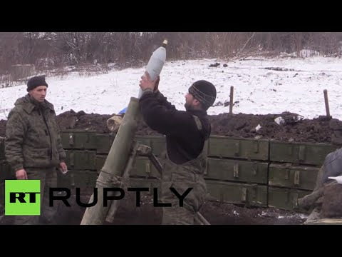 1 day before Ceasefire: Rebels shell Ukrainian positions