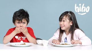 Kids Try Indian Food