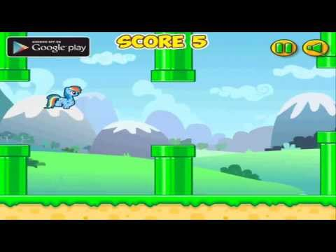 Flappy Rainbow Pony - Free game android app on Google Play 2014