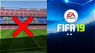 THINGS THAT WILL NOT BE IN FIFA 19
