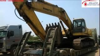 vận chuyển máy xúc,chở máy công trình - 0988165188