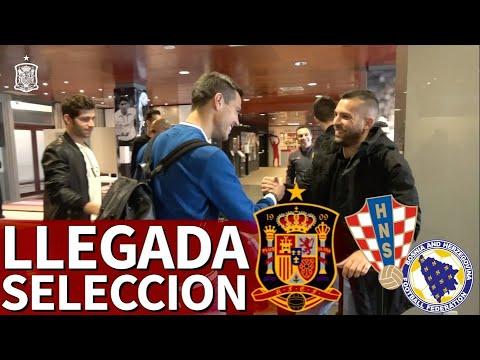 Llegada de los jugadores de la Selección a Las Rozas: Brais, Hermoso y Fornals hablaron   Diario AS