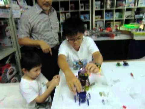 Clive&Colin Hexbug Workshop (rechargeable Spider)