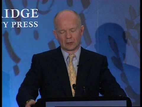 William Hague on William Pitt