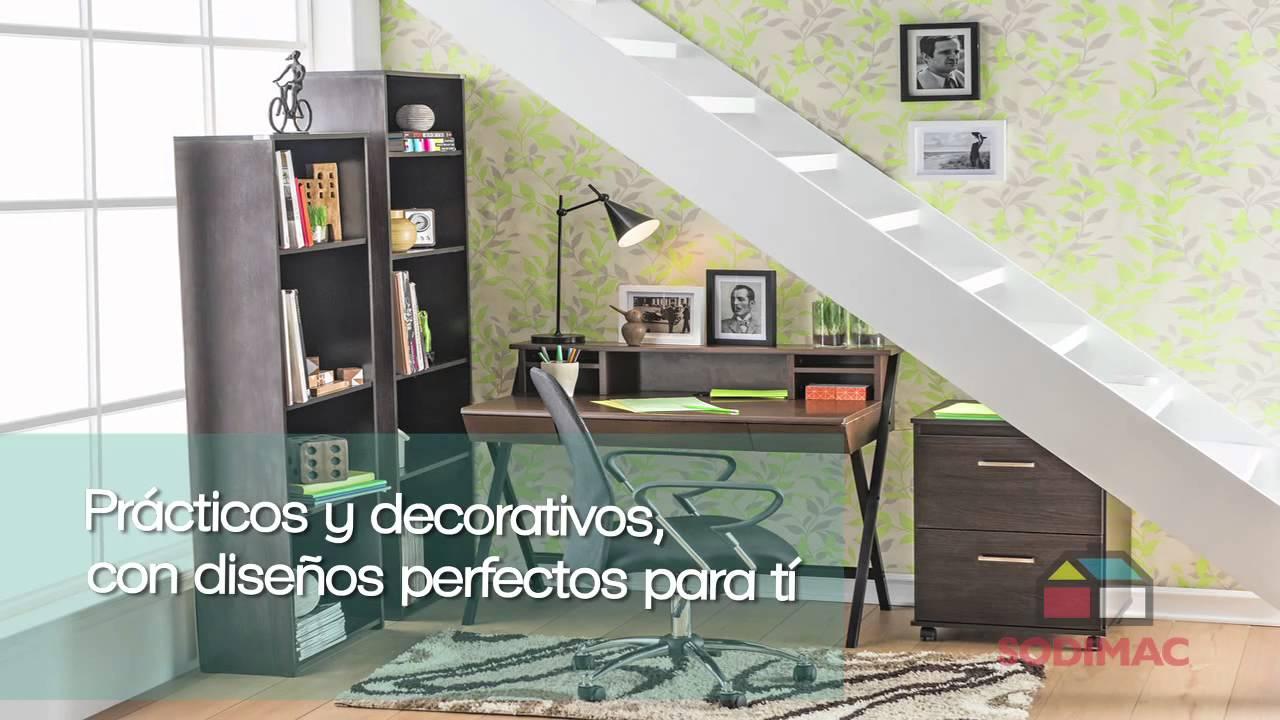 Regresa al cole con estilo muebles sodimac youtube - Muebles shena opinion ...