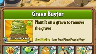 Boosted Grave Buster - Hack - Plants vs. Zombies 2