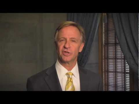 Gov. Bill Haslam : Western Governors University Tennessee