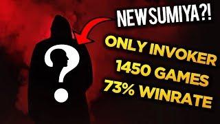 Vapesh - Only Invoker, 1450 Games, 73% Winrate = NEW SUMIYA? - Dota 2