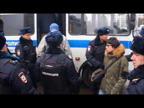 Активистов Партии националистов задержали возле мэрии Москвы