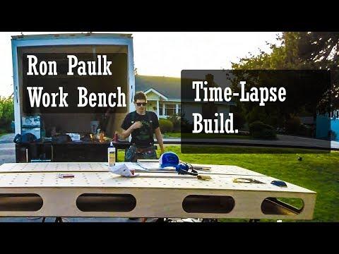 Paulk Workbench Build time-lapse