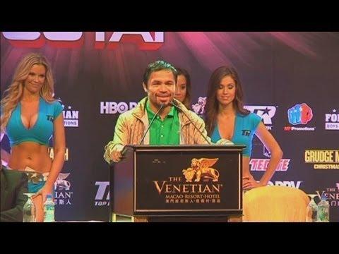 Manny Pacquiao Dedicates Rios Victory To Filipino Victims Of Typhoon Haiyan video