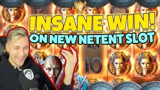Vikings BIG WIN!!! New netent Huge win - Casino Games - (Online Casino)