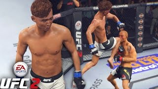 Doo Ho Choi Has HEAVY Hands - 28 Second Knockout! EA Sports UFC 2 Online Gameplay