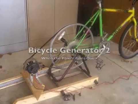 Bisiklet jeneratör