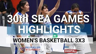 HIGHLIGHTS: 3X3 Basketball Women's FINALS Philippines vs Thailand | SEA Games 2019