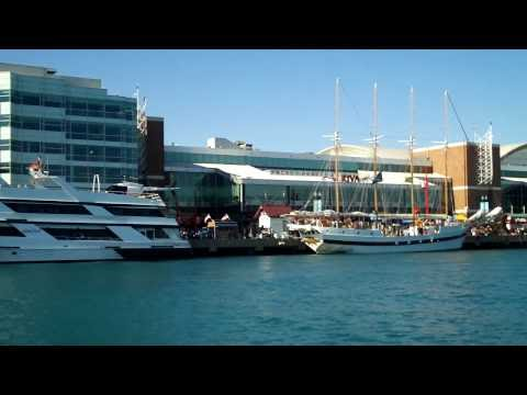 Navy Pier's Cruise Boats Viewed From Lake Michigan, Chicago