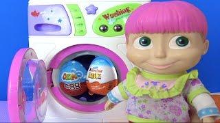 Koca Ayı sürpriz yumurta getirdi Yaramaz Maşa çamaşır makinesine sakladı Niloya bulabilecek mi?