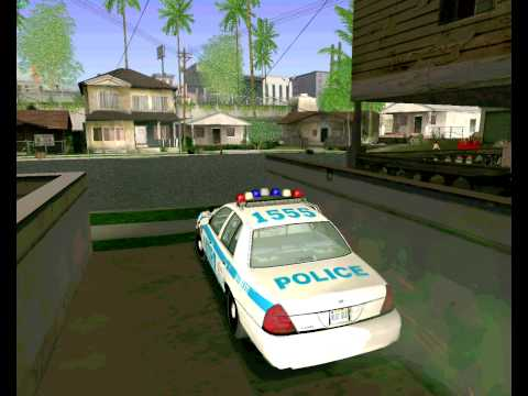 Ford Crown Victoria 2003 NYPD police V2.0