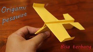 Origami pesawat luncur terbang jauh mudah