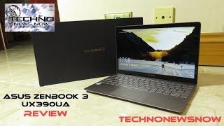 "ASUS Zenbook 3 UX390UA 12.5"" - Intel i5 7200U - 8GB RAM - 512GB SSD - Laptop Review from AO.com"