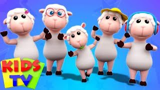 Sheep Finger Family | Nursery Rhymes | Songs For Kids | Video For Babies Kids TV