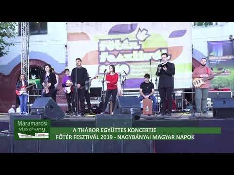 Főtér Fesztivál 2019 - A Thábor Együttes koncertje