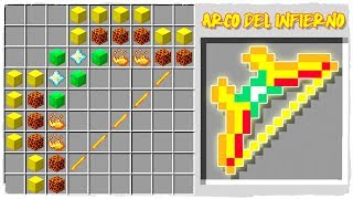 HOW TO CRAFT THE HELL'S BOW IN MINECRAFT!