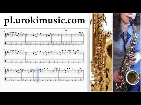 Nauka Gry Na Saksofonie (Altowy) Beethoven - Für Elise Nuty Poradnik Część 2 Um-b463