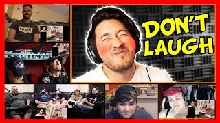 Markiplier - Try Not To Laugh Challenge #6 Reaction Mashup