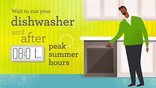 SMUD Time-of-Day Savings Tip #1: Dishwashers