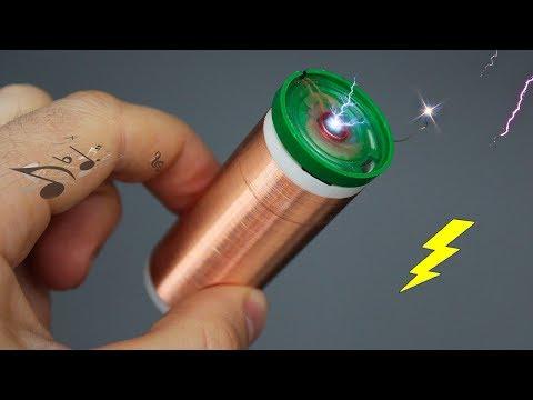 Как сделать мини катушку Тесла своими руками