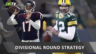 Divisional Round Lineup Strategies