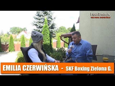 Emilia Czerwińska Po Walce Na MFC 12 W Zielonej Górze
