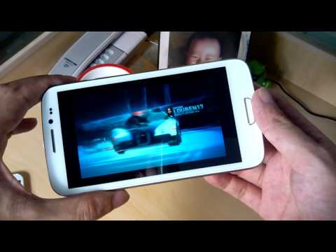 HDC Galaxy S3 Pro - 5.3 Inch 1.2GHz Dual Core Android Phone Review