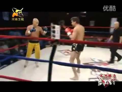 Shaolin Kung Fu master VS Muay Thai champion KO Image 1