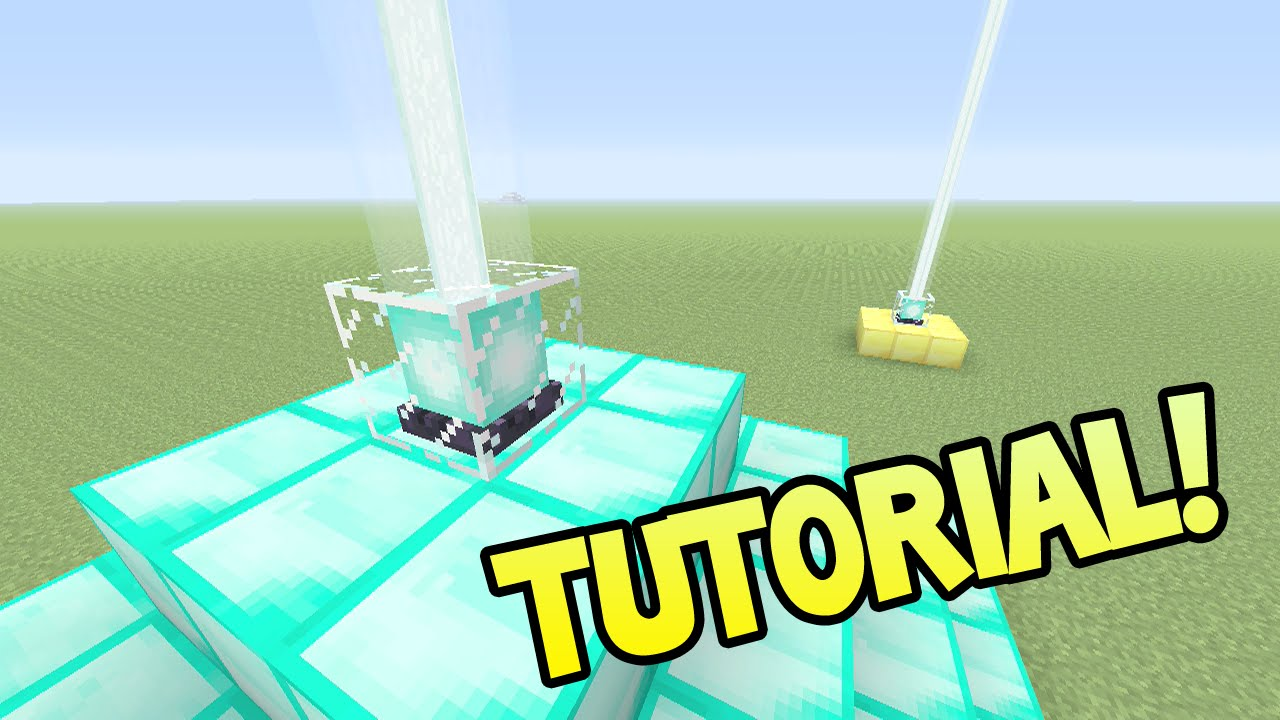 How to Make a Beacon in Minecraft pics