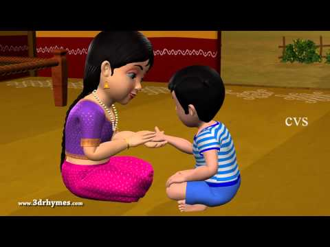 Aakesi Pappesi - 3d Animation Telugu Rhymes For Children video