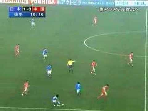 Do you know fair play ? Football match Japan vs China