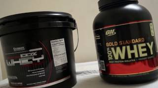 ON 100% Gold Standard Whey Vs. Ultimate Nutrition Prostar 100% Whey